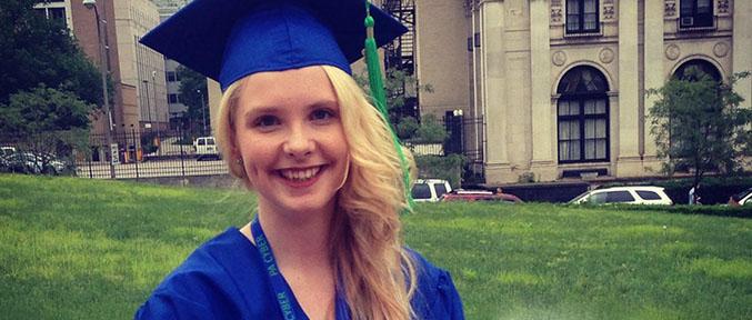 graduation of Cora Halliday