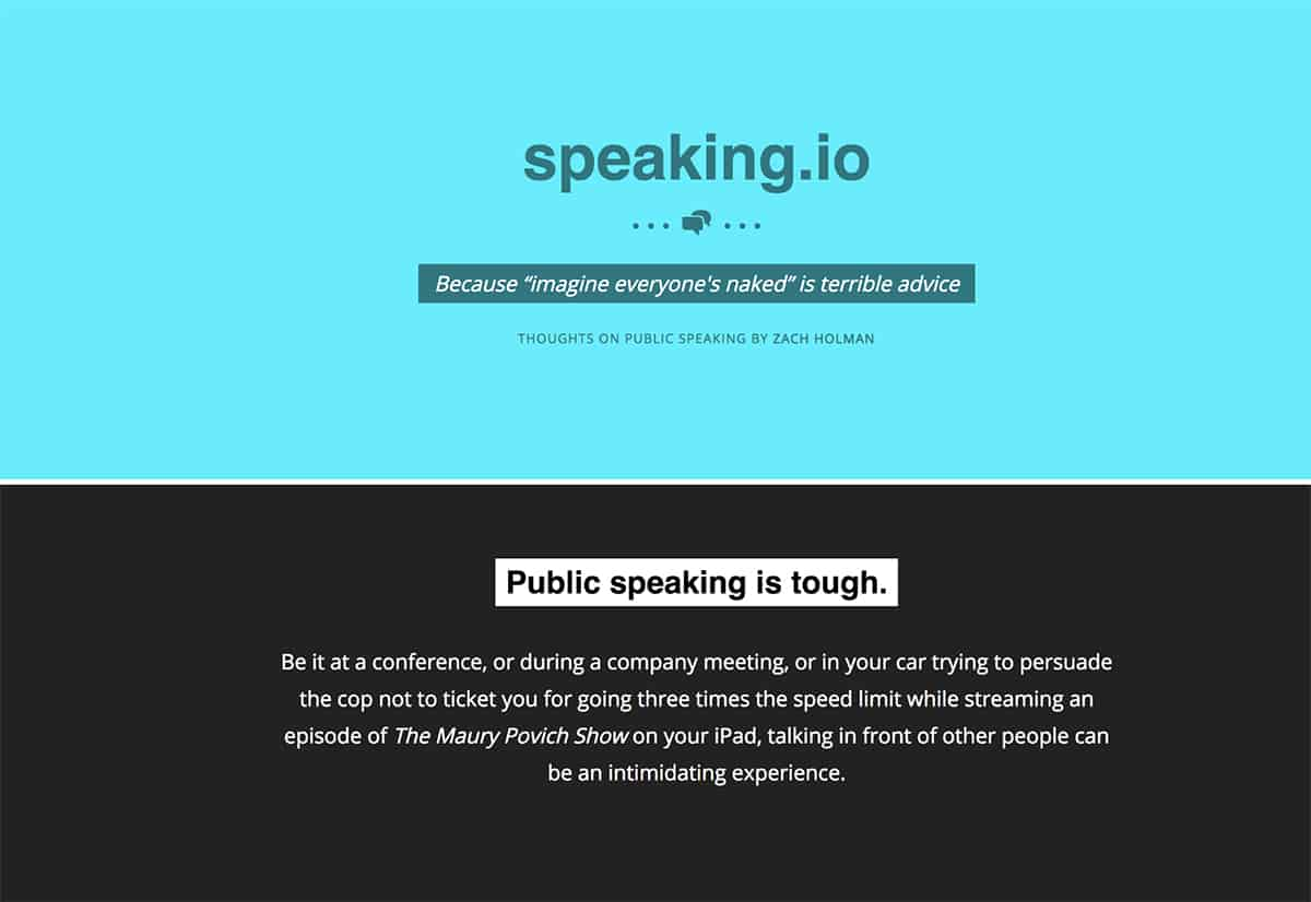 Speaking.io