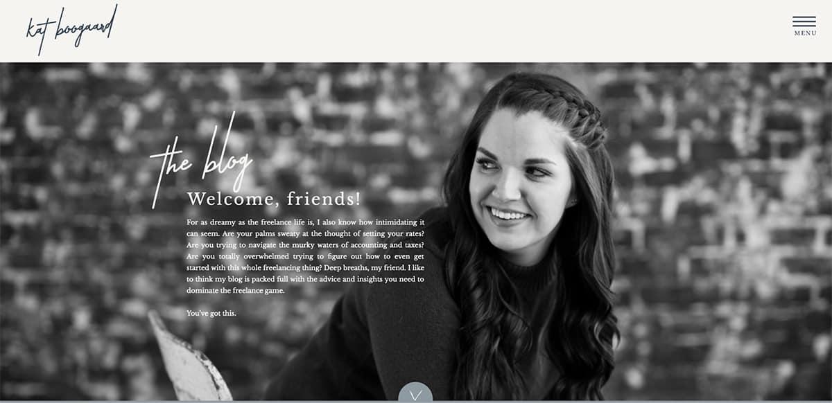 Kat Boogaard's blog