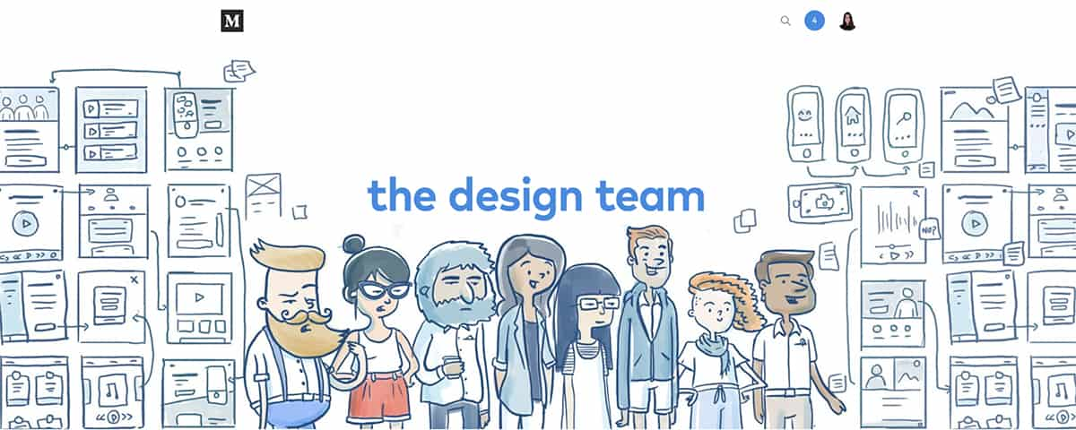 The Design Team graphic