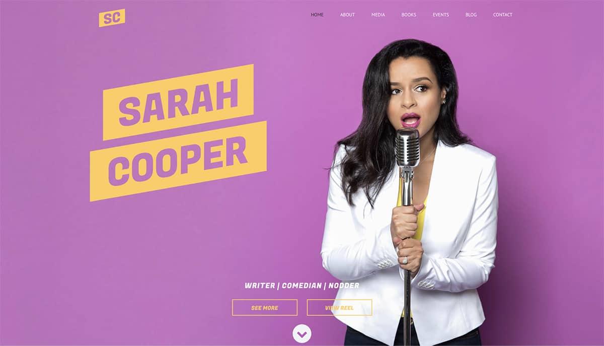 Sarah Cooper's homepage