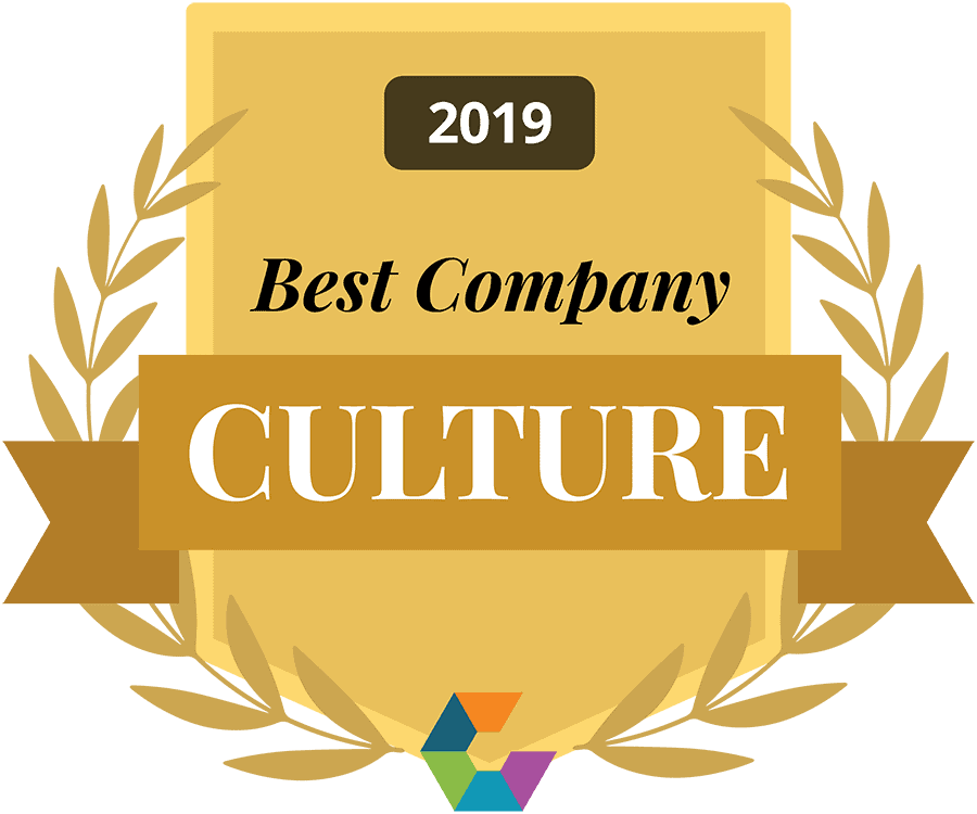 best company culture 2019 Comparably award