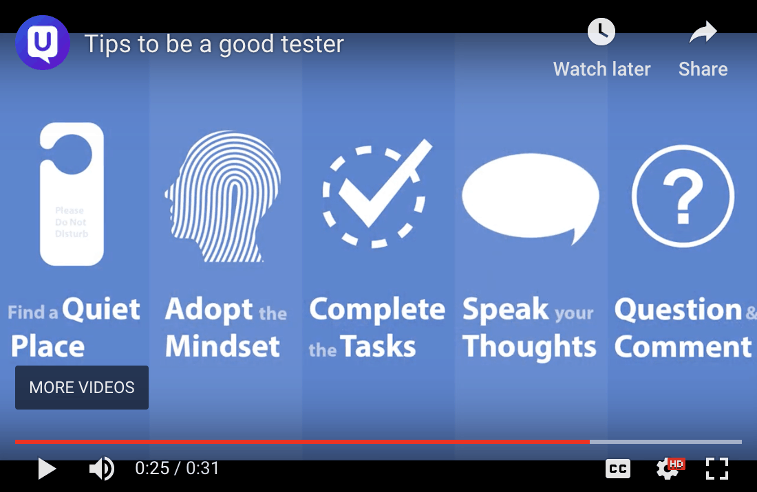 tips to be a good tester