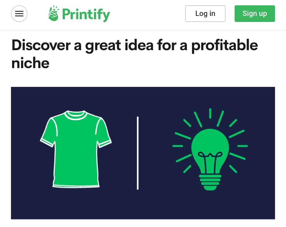 Printify website