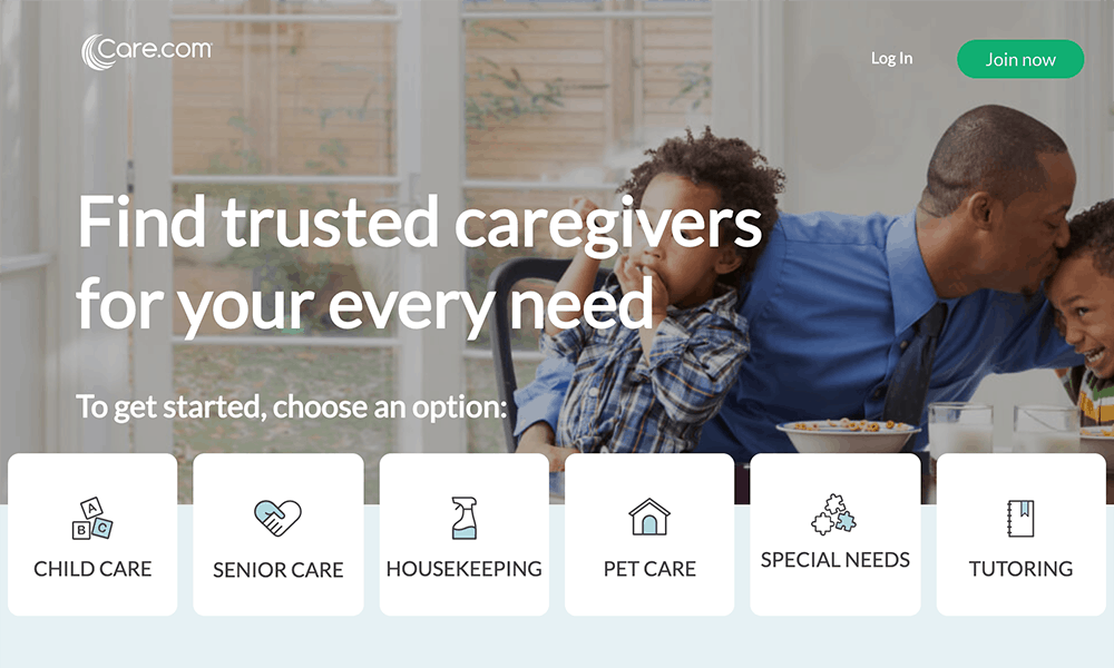 Care.com website