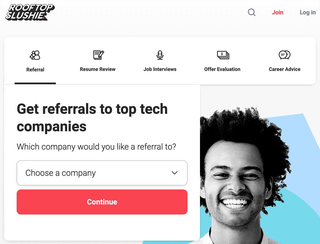 Rooftop Slushie website