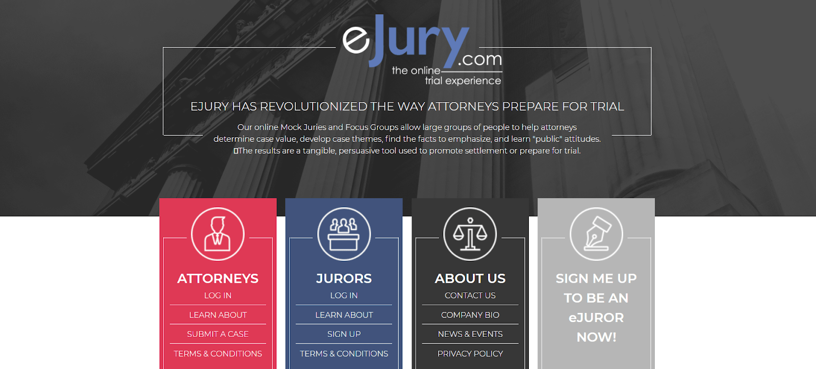 eJury website