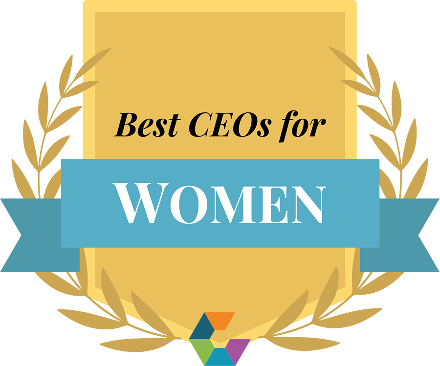 """""""Best CEOs for Women"""" badge"""
