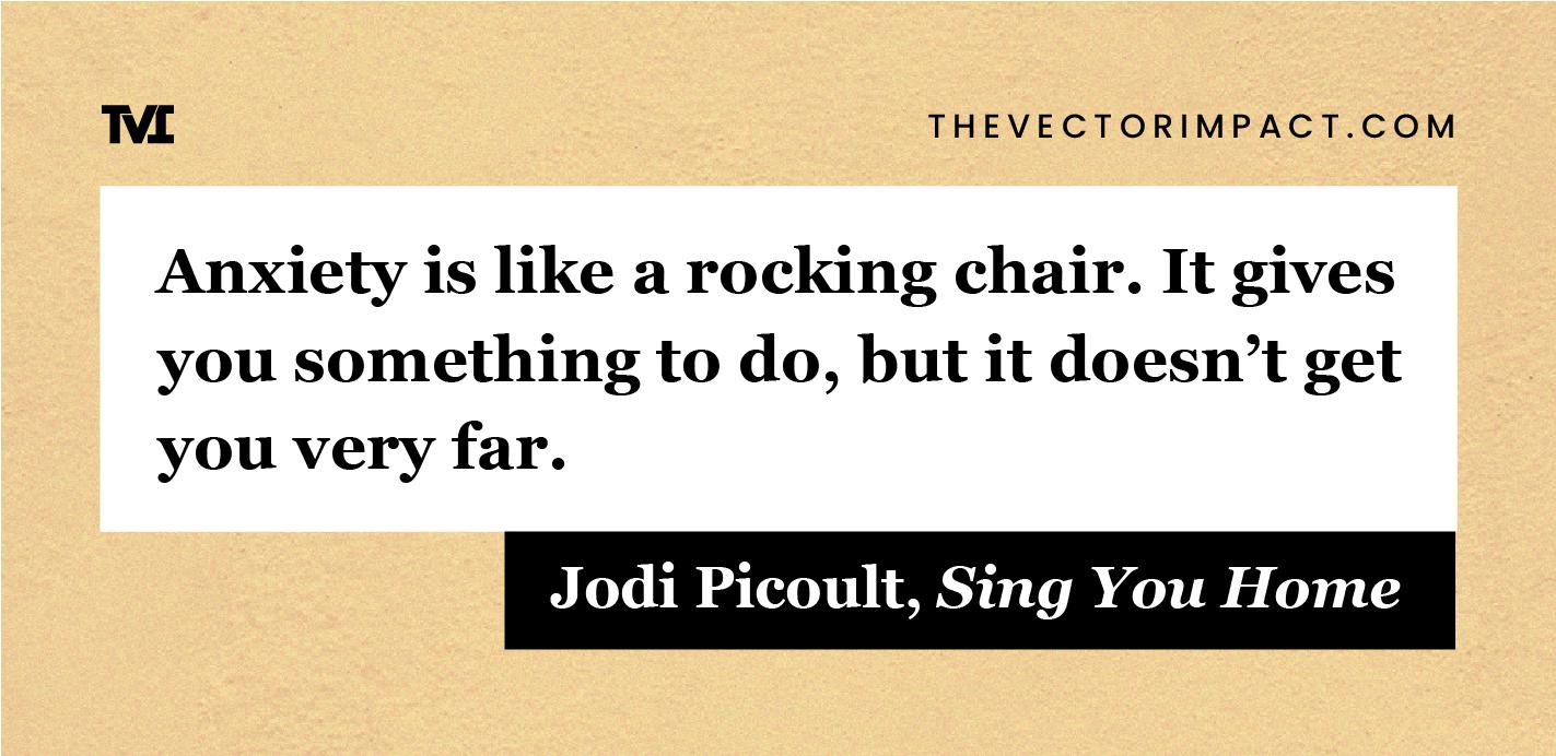 Jodi Picoult quote about depression graphic