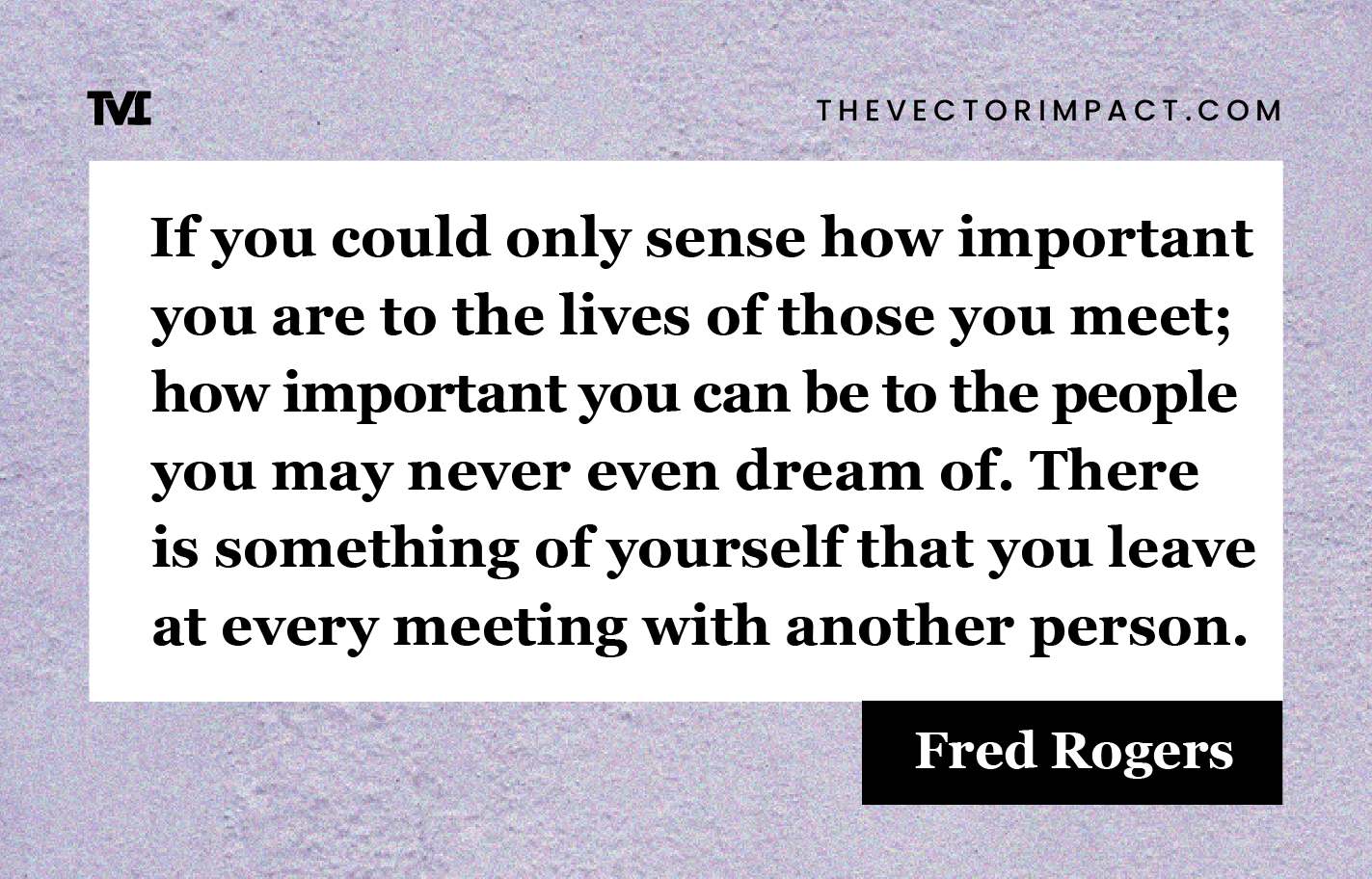 Fred Rogers quote about depression graphic