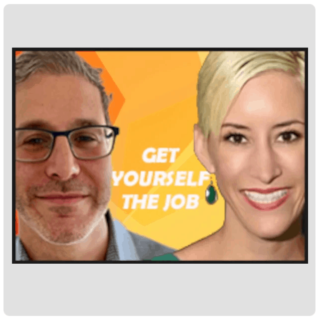 Get Yourself the Job, headshots of Brandon Maslan and Jennifer Hill