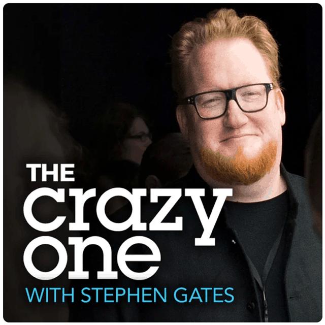 The Crazy One, Stephen Gates headshot