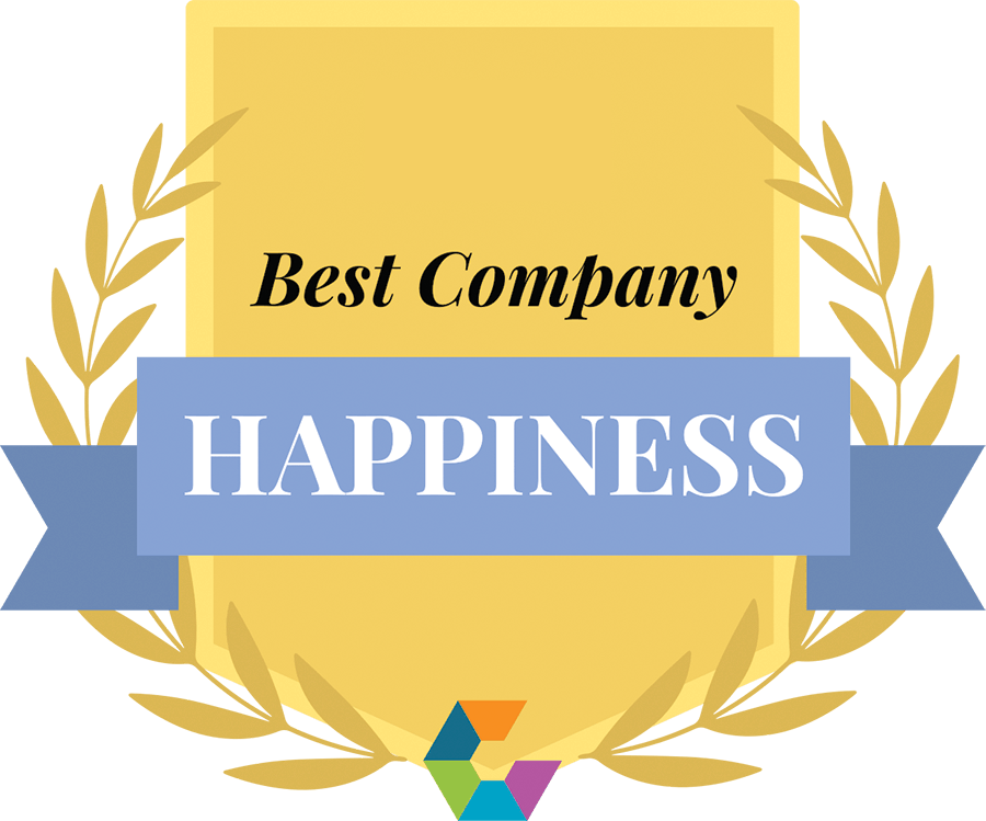 Award for best company for happiness