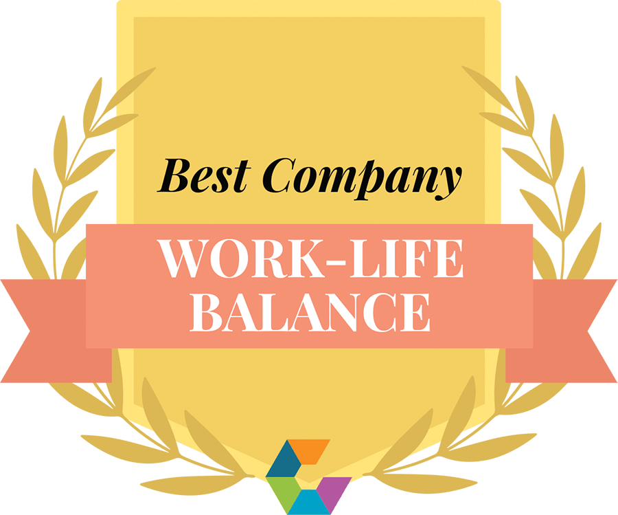 Award for best company for work-life balance