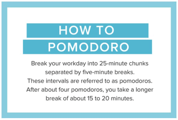 The Pomodoro Technique can fix personal productivity issues.