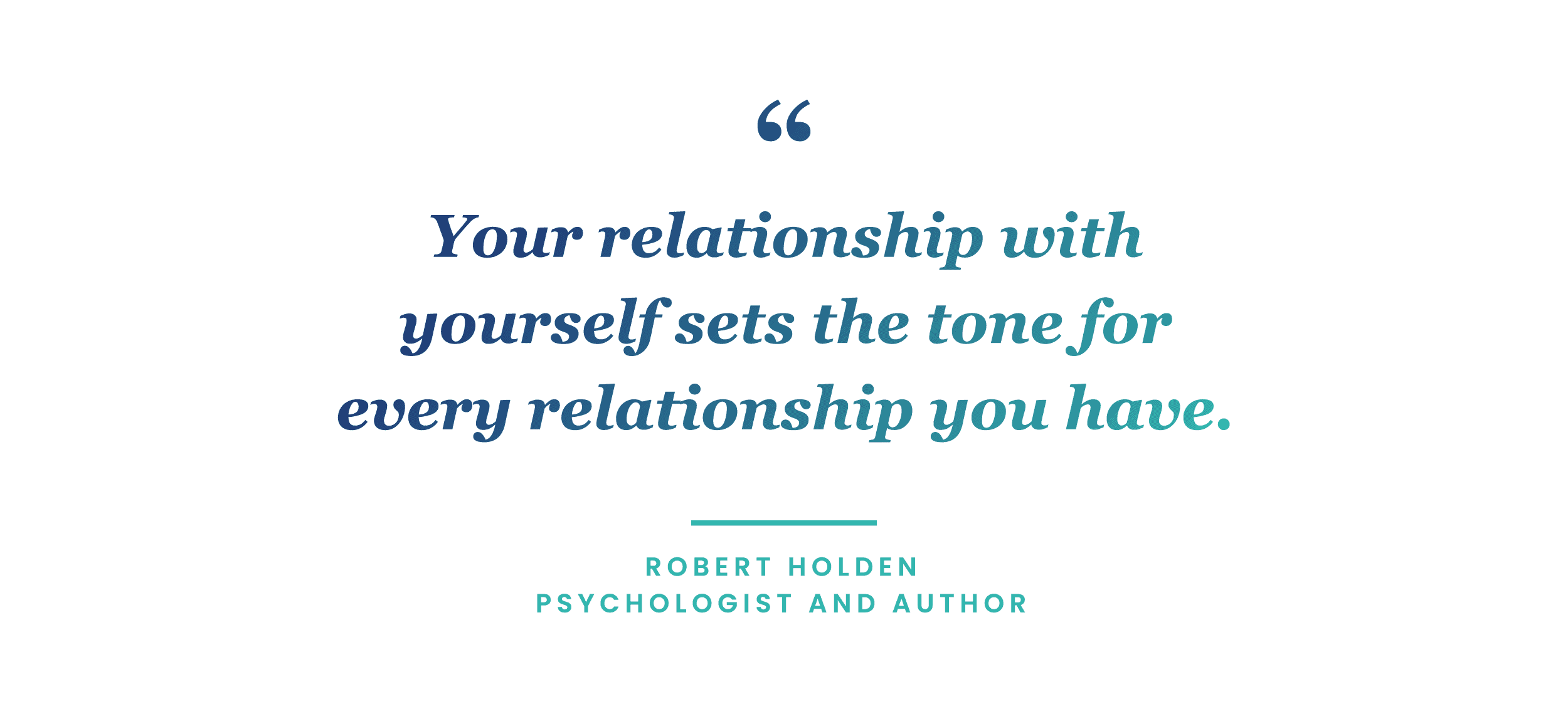 mindfulness quote by Robert Holden