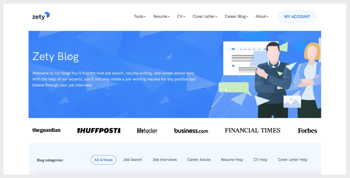 zety website