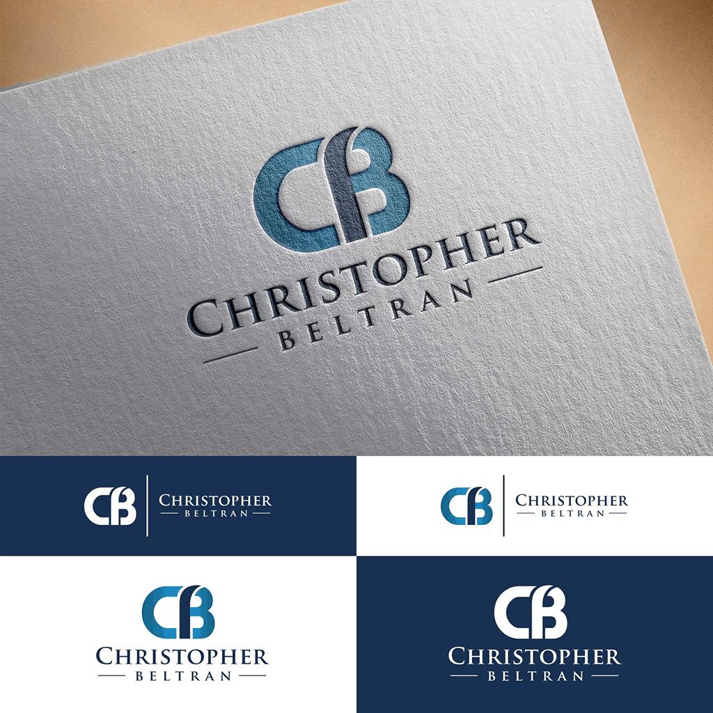 personal brand logo for Christopher Beltran, entrepreneur