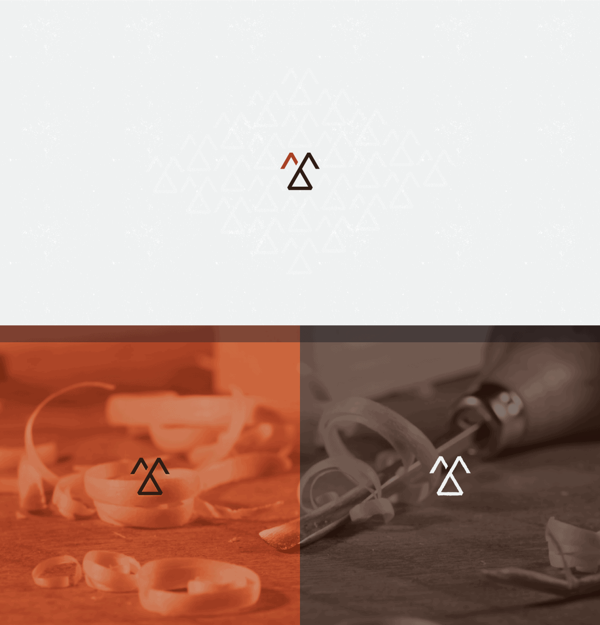 personal brand logo for Cyrillic Runes, woodworker