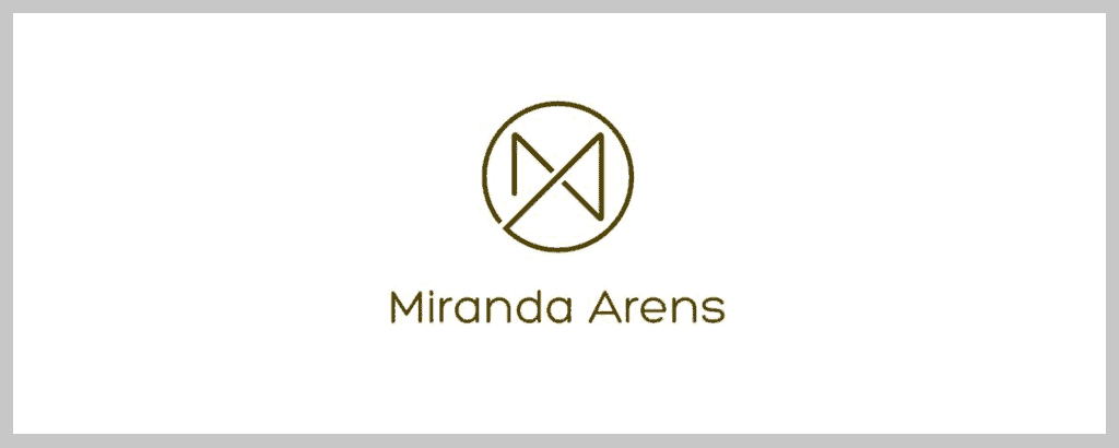 personal brand logo for Miranda Arens, legal counsel