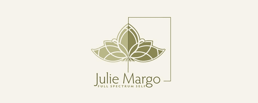 personal brand logo for julie margo, spiritual developer