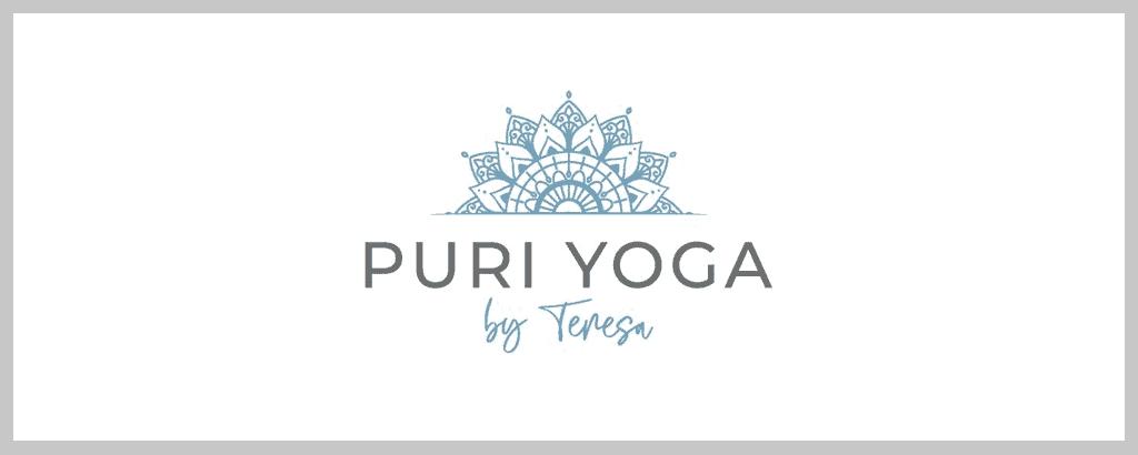 personal brand logo for puri yoga