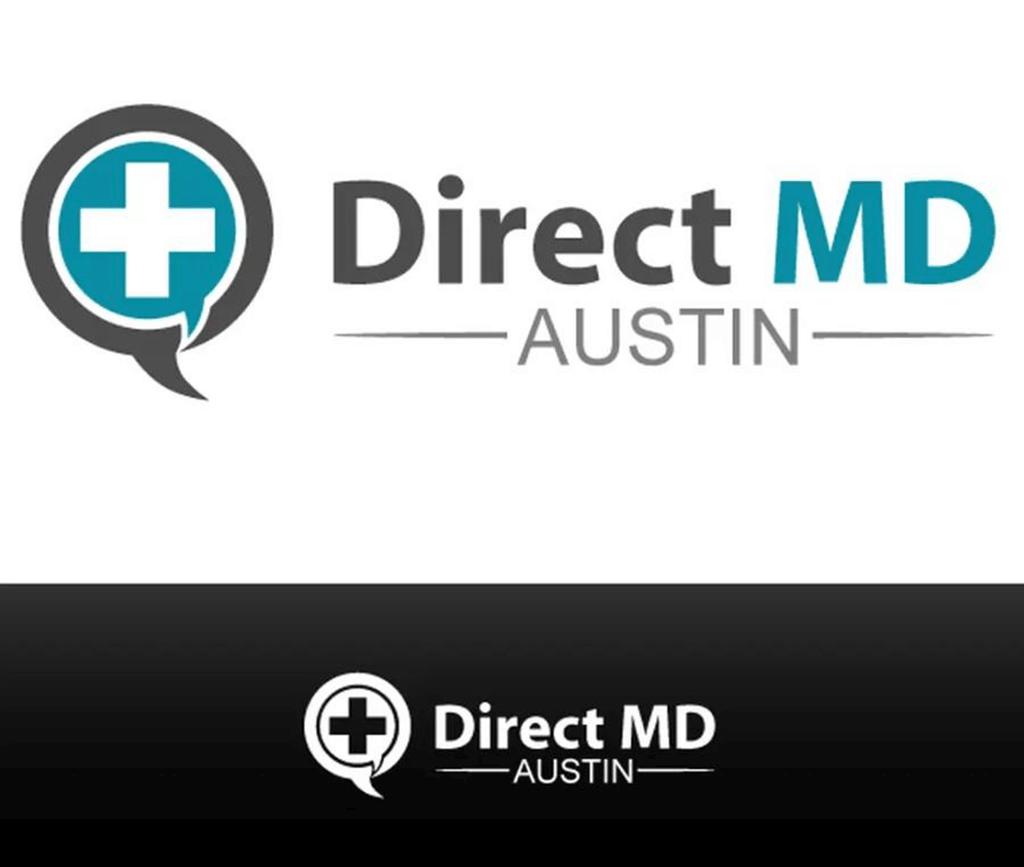 personal brand logo for direct md austin, medical practitioner