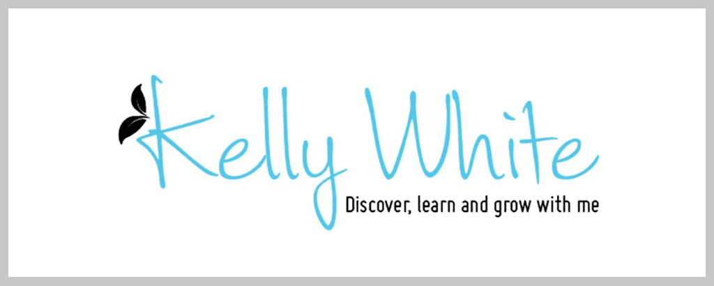 personal brand logo for kelly white, business coach