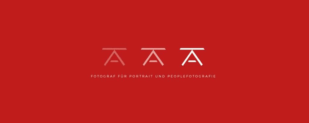 personal brand logo for andreas kufner, photographer