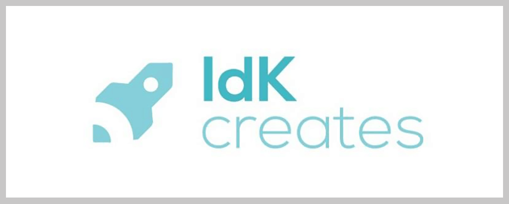 personal brand logo for idk creates, instructor