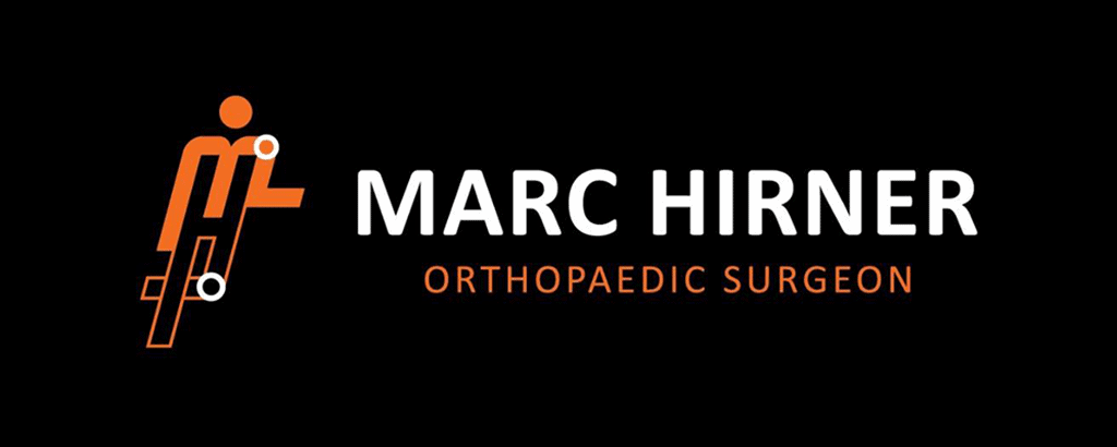 personal brand logo for marc hirner, surgeon