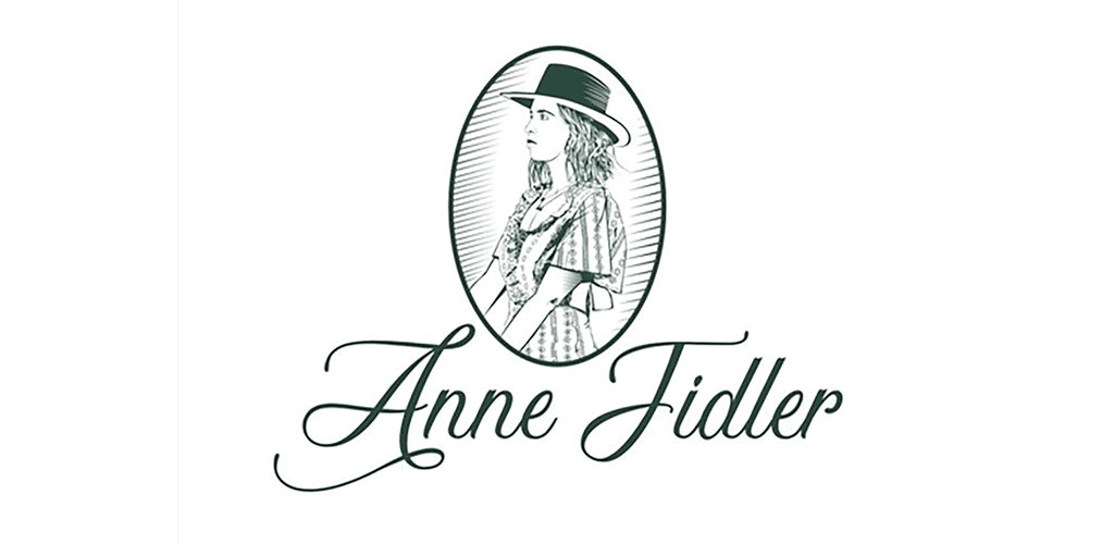 personal brand logo for anne fidler, actress