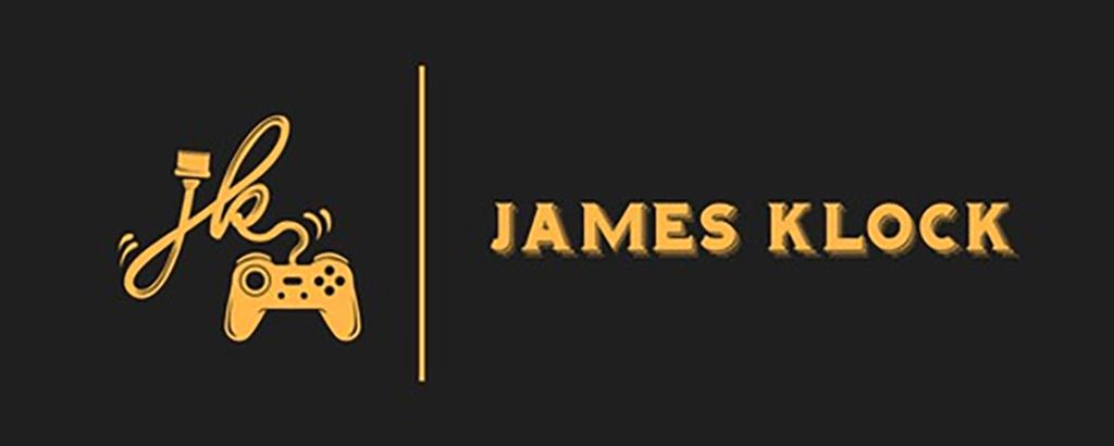 personal brand logo for james klock, game designer