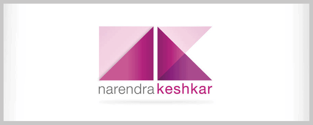 personal brand logo for narendra keshkar, graphic designer
