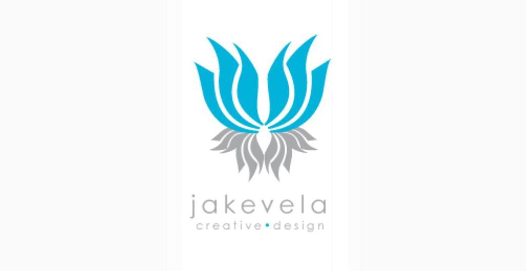 personal brand logo for jake vela, designer