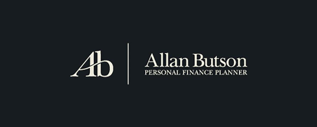 personal brand logo for allan butson, finance planner