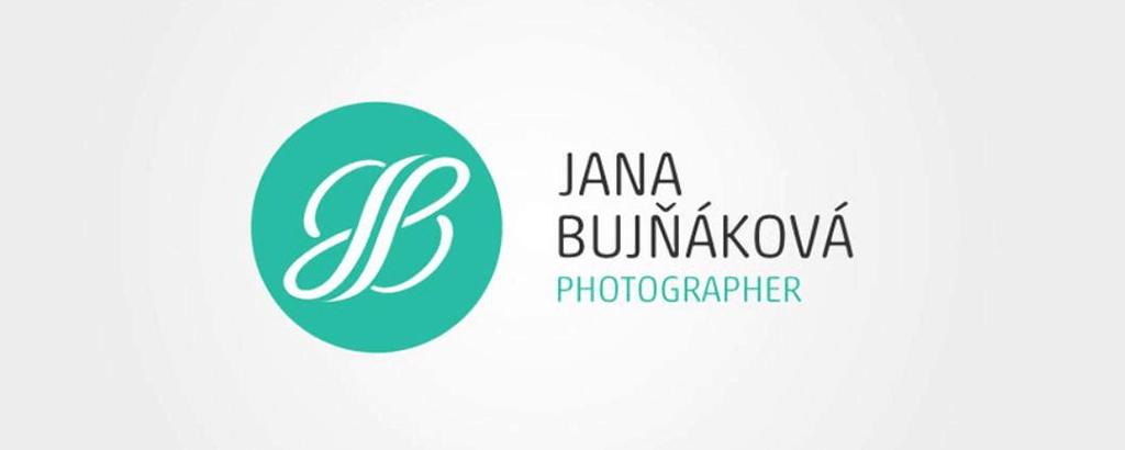 personal brand logo for jana bujnakova, photographer